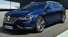 Renault all'attacco con Talisman Sporter, familiare alla francese per business class