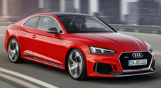Audi RS5, una supercar vestita da coupè: motore V6 biturbo, 0-100 in soli 3,9""