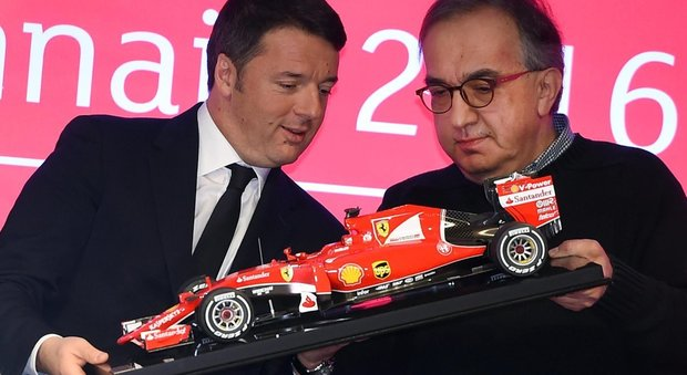 5c8c62534b La Ferrari debutta in borsa, Renzi : «Finalmente l'Italia c'è»