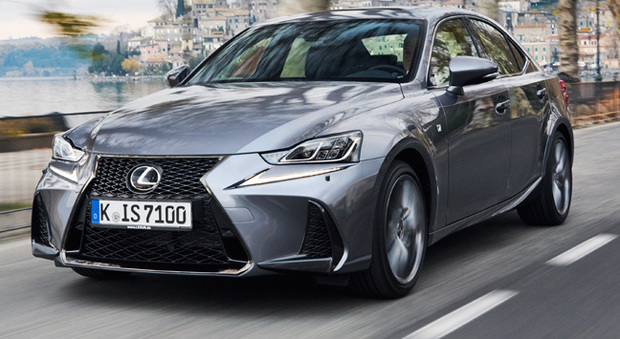La nuova Lexus IS