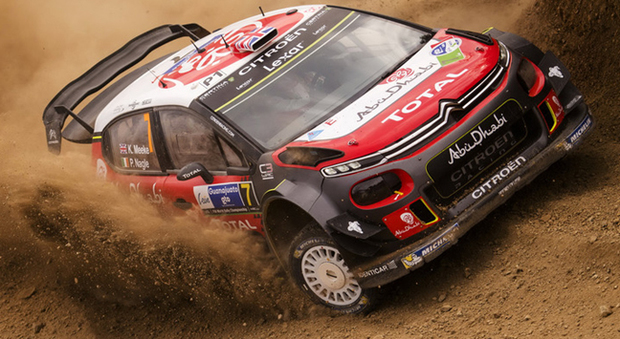Kris Meeke in Messico