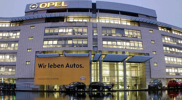 La sede Opel di Russelsheim in Germania