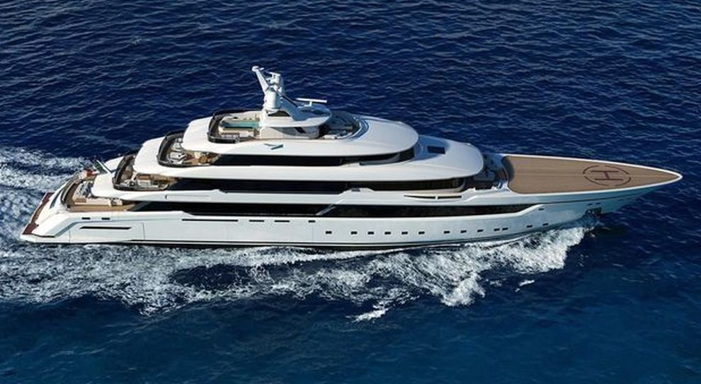 Il Dragon di Palumbo Superyachts