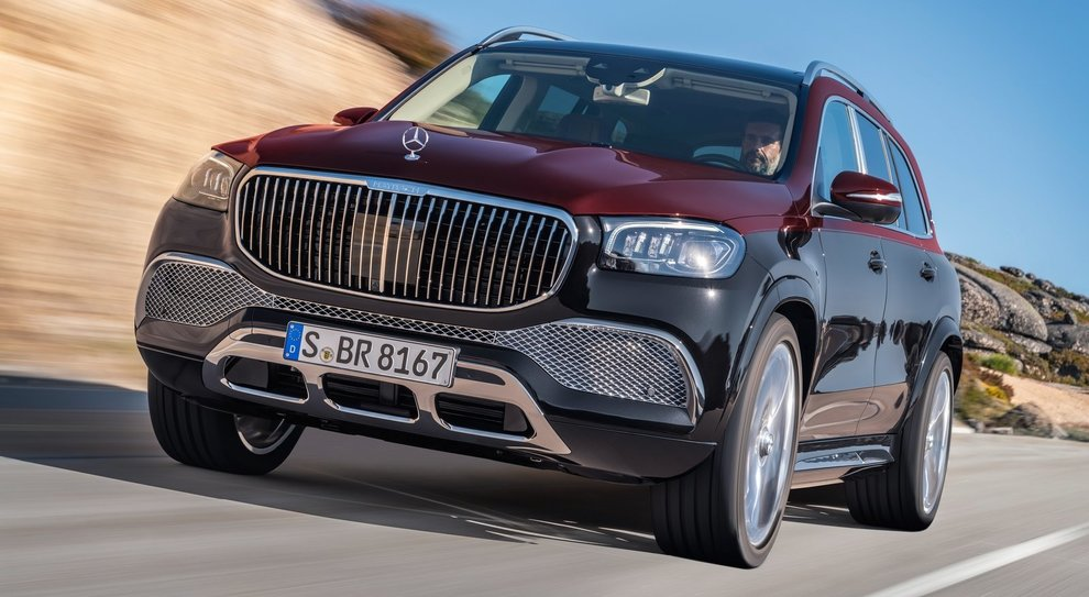 Il Mercedes Maybach GLS 600