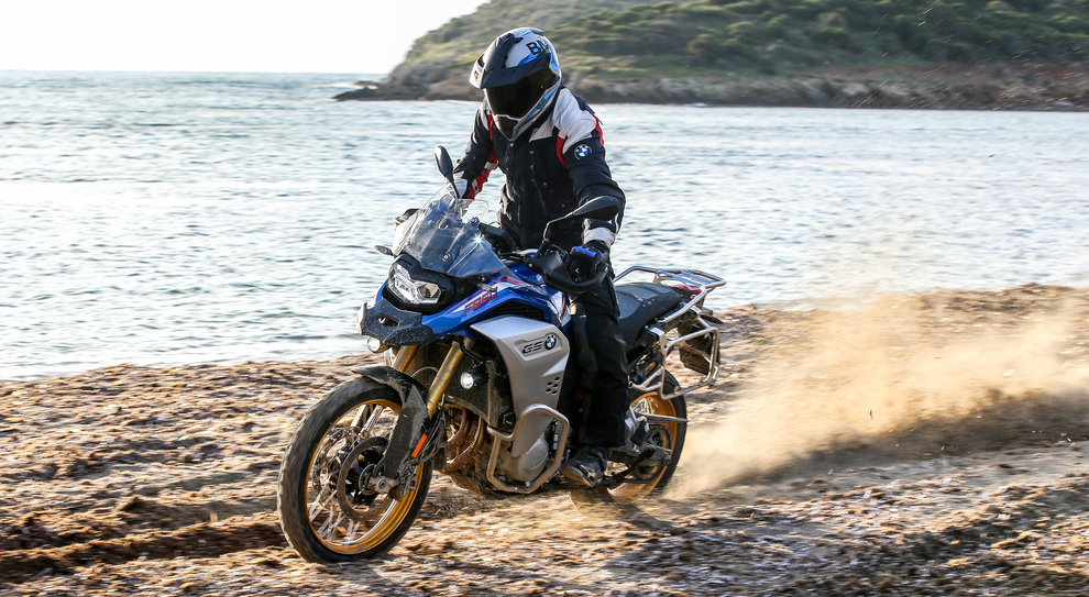 La BMW F 850 GS Adventure in Sardegna