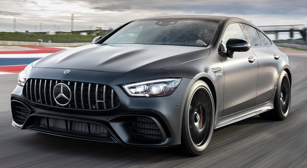 La Mercedes Amg GT Coupè 4