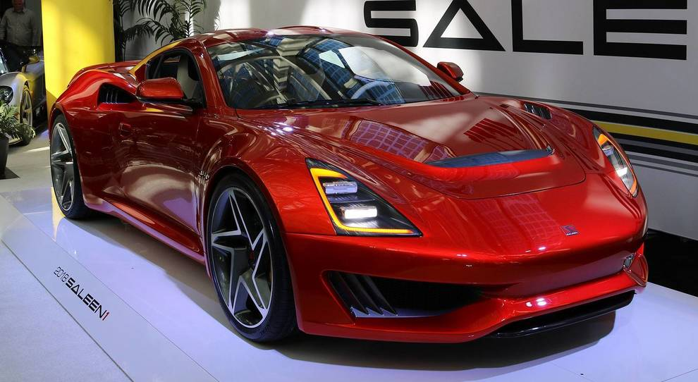 La Saleen S1 esposta a Los Angeles