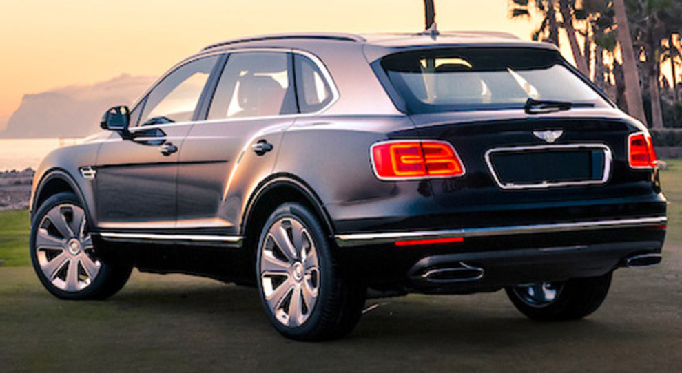 Per la Bentley Bentayga Mulliner prima apparizione negli States a The Quail