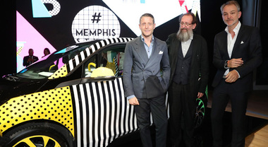 BMW i3 e i8 Memphis Style, alla Design Week svelate le one-off by Lapo Elkann