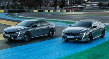 Peugeot 508 Sport Engineered, l'ibrida plug-in e sportiva