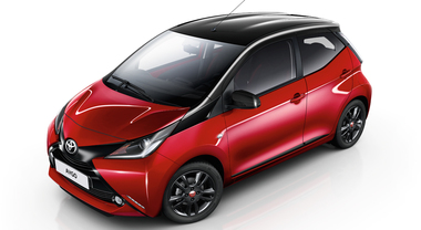 X-Cite Red Edition, arriva una nuova versione fashion per Toyota Aygo